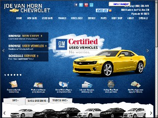 Joe Van Horn Chevrolet Inc, 3008 County Road C, Plymouth, Sheboygan